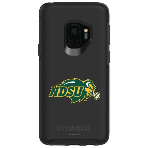 GAL-S9-BK-SYM-NDSU-D101: FB North Dakota St OB SYMMETRY Case for Galaxy S9